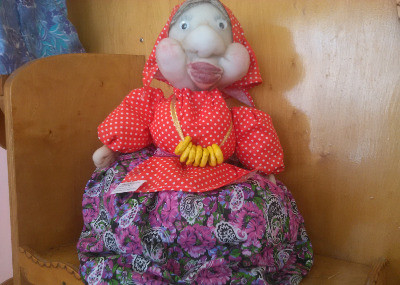 кукла бабушка