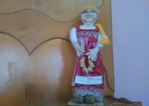 кукла с баранками