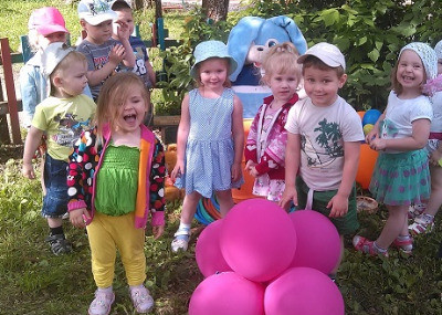 дети лето
